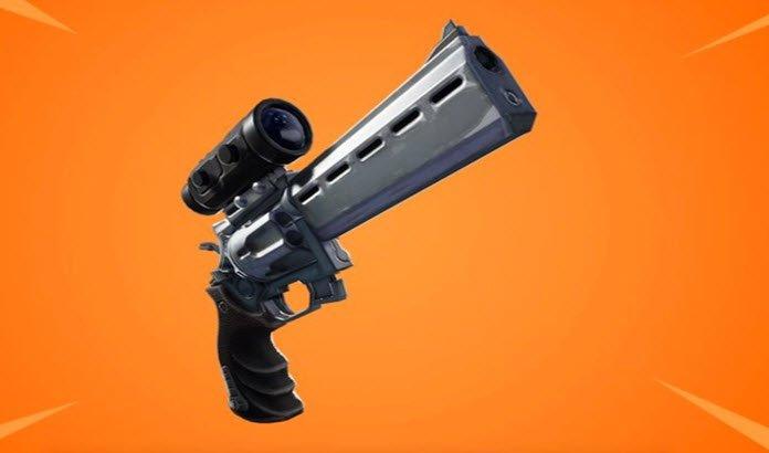 Este es el nuevo revólver con mira de 'Fortnite: Battle Royale'