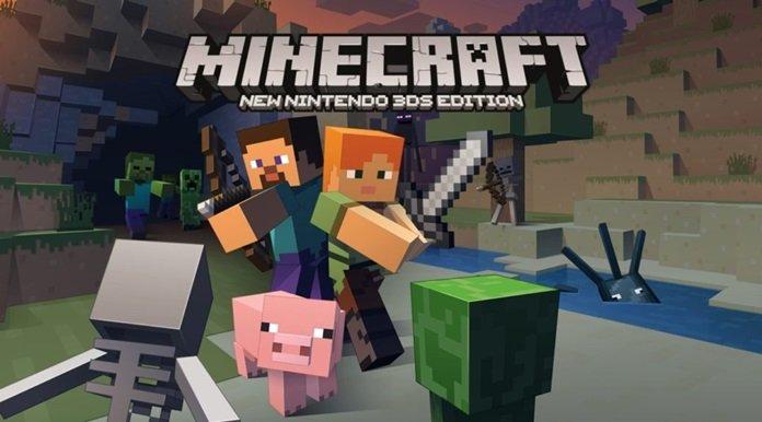 Ya está disponible actualización final de Minecraft: New Nintendo 3DS Edition