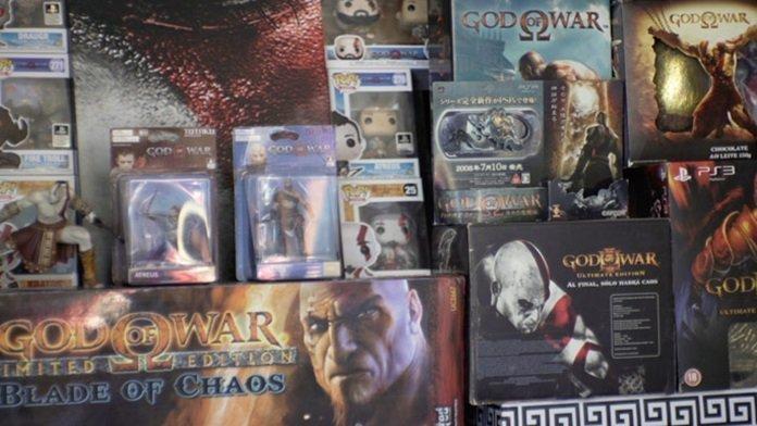 Jugador obtiene Record Guiness por la mayor colección relacionada con God of War