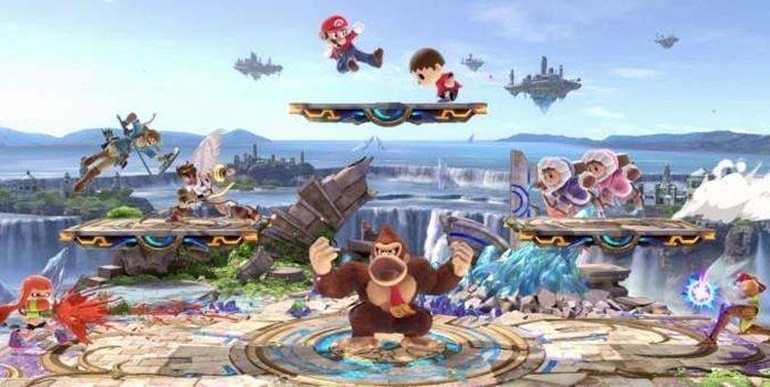 Jugadores crean escenarios inapropiados usando el Stage Builder de 'Super Smash Bros. Ultimate'